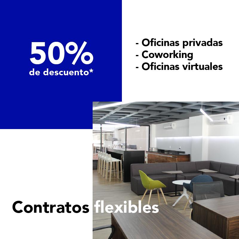 Espacios de trabajo flexibles